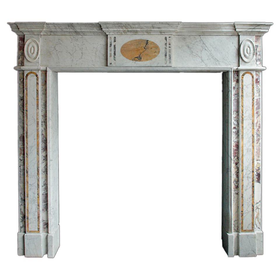 Th century irish georgian mantelpiece modern fireplaces