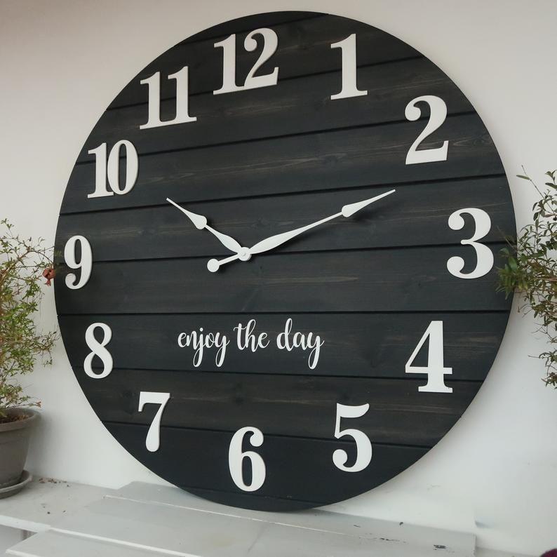 28303337 personalized wall clock etsy in 2020