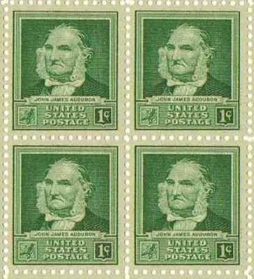 John James Audubon Set of 4 x 1 Cent US Postage Stamps NEW Scot 874 . $5.95. John James Audubon Set of 4 x 1 Cent US Postage Stamps NEW Scot 874