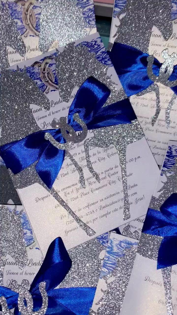 Decoracion Azul Rey Y Plateado
