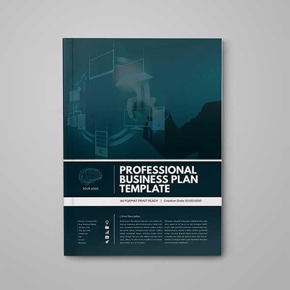 Professional Business Plan Template Doküman Pinterest Business - professional business plan