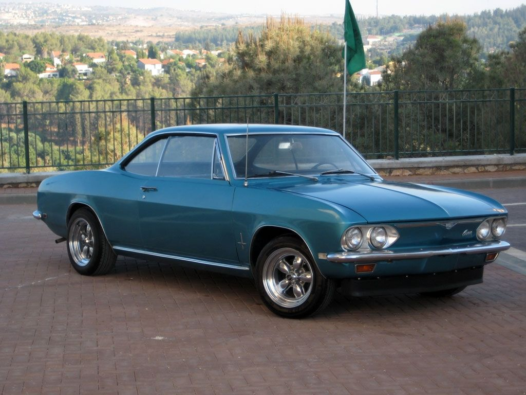 1968 corvair  Another liorbaruch 1968 Chevrolet Corvair post
