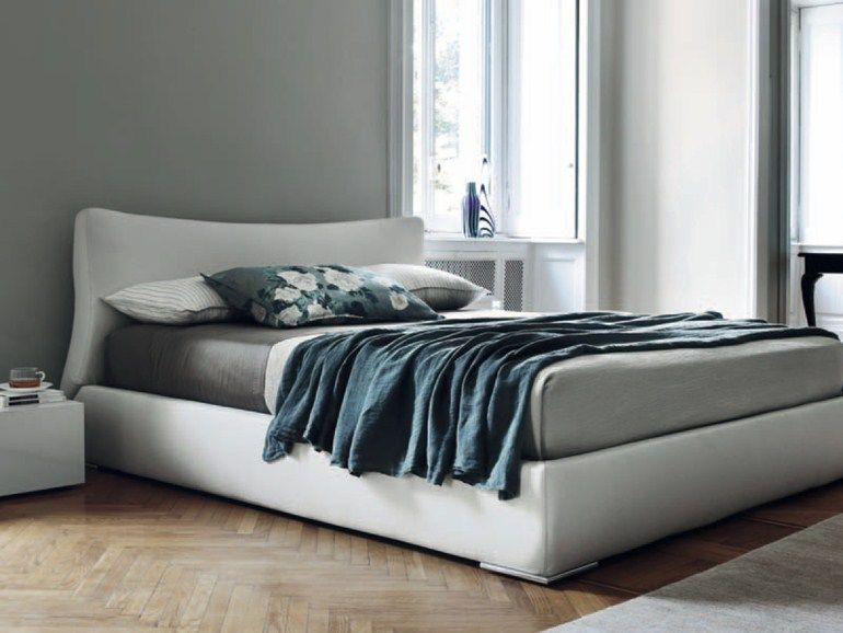 Feg Mobili ~ Bed with upholstered headboard suite by feg mobili design paolo