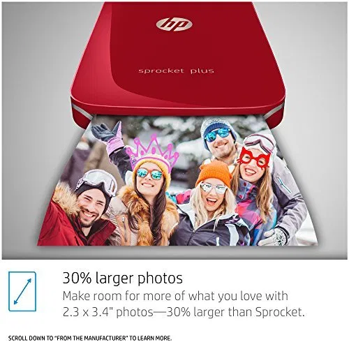 Hp Sprocket Plus Instant Photo Printer Print 30 Larger Photos Best Offer Electronics And Computers Shop Ineedthebestoffer Com Photo Printer Instant Photos Hp Sprocket Photo Printer
