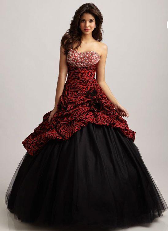 984da47d4 vestido rojo y negro para xv años - Buscar con Google