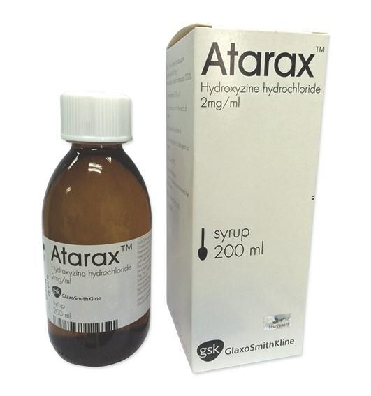 What is atarax medication used for