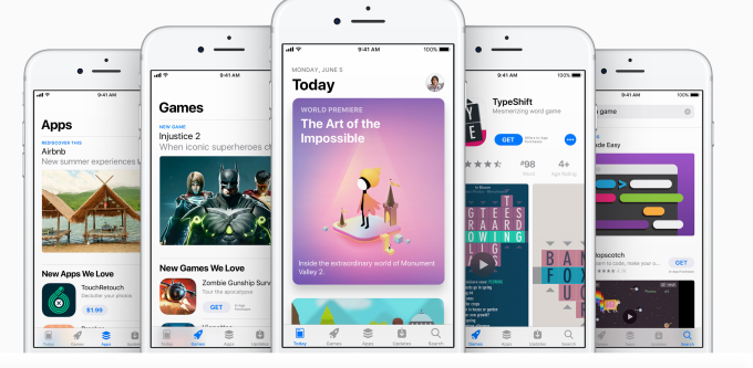 Apple introduces a completely redesigned App Store App