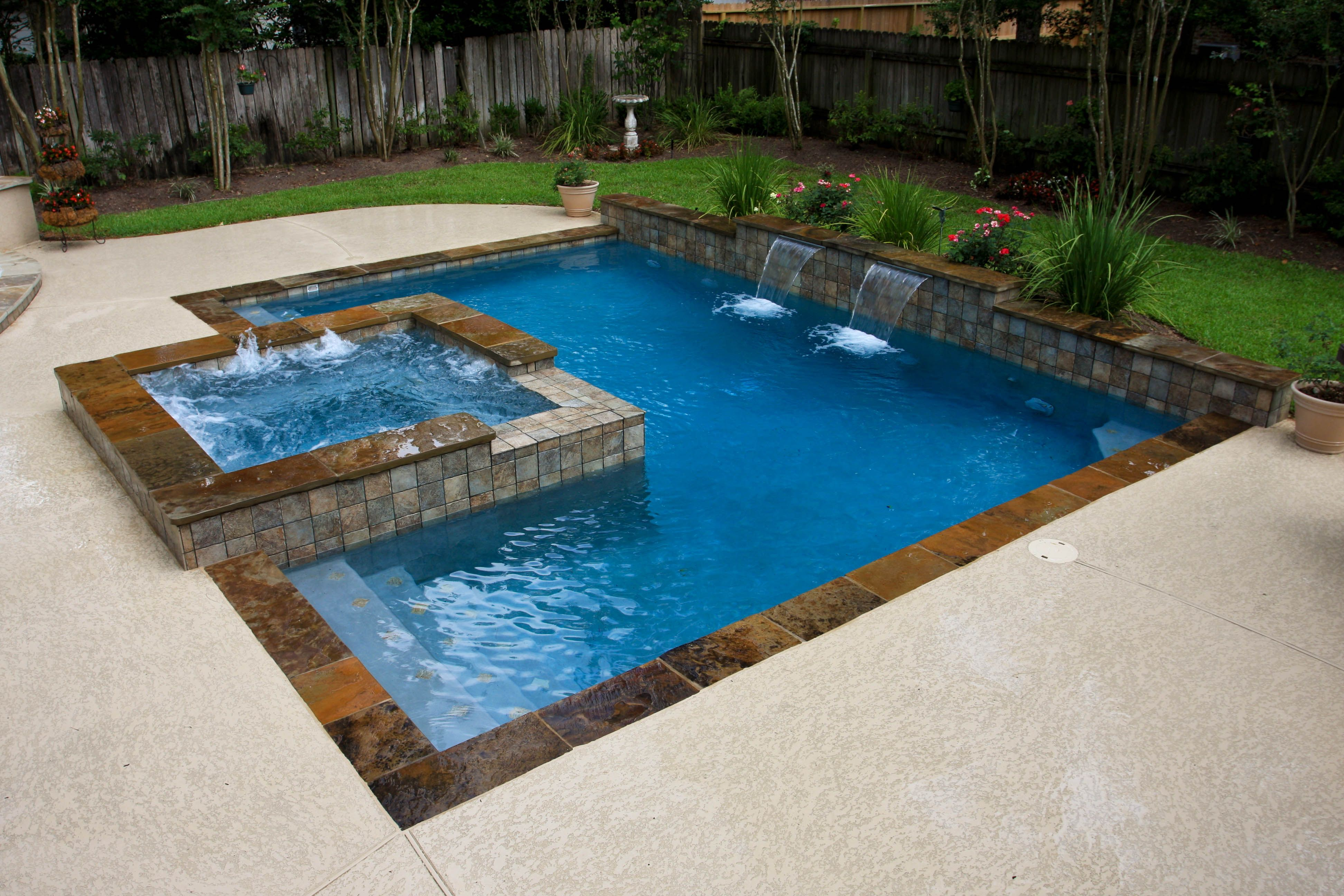 richard's total backyard solutions pool and spa gallery. serving