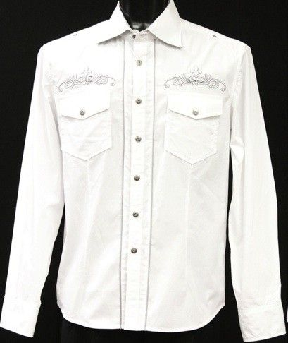 Mens Western Denim Shirts