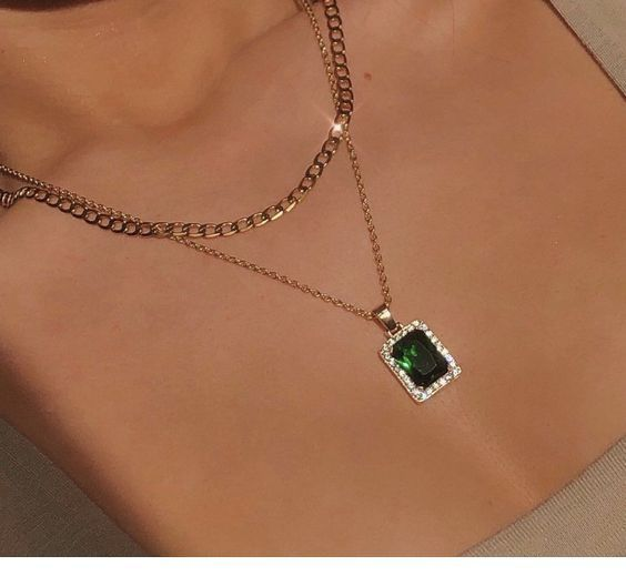 Photo of Emerald necklace that I like – Cute jewelry