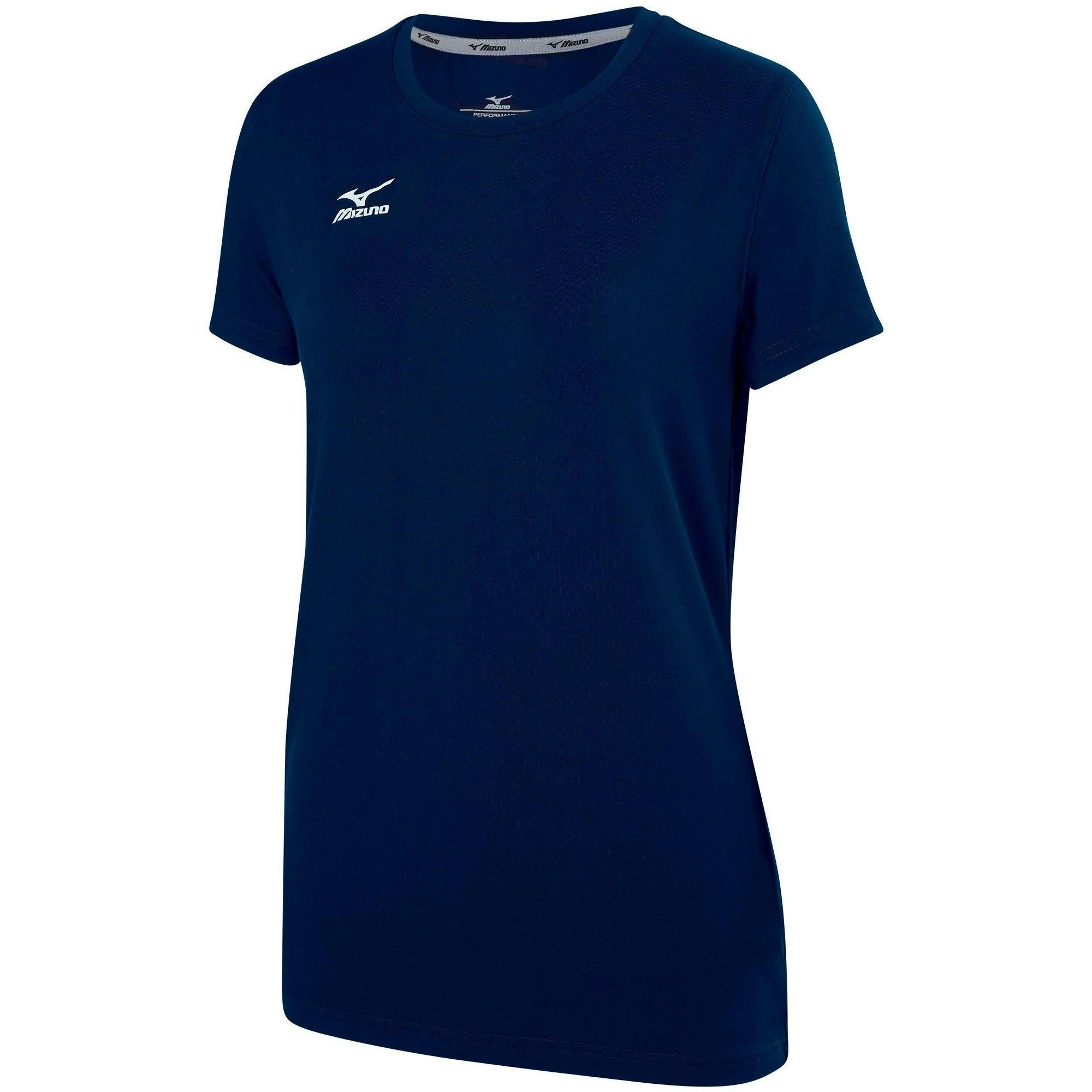 Mizuno Youth Girl S Volleyball Attack Tee Shirt 2 0 Girls Size Medium In Color Navy 5151 Blue Women Volleyball Tees Women