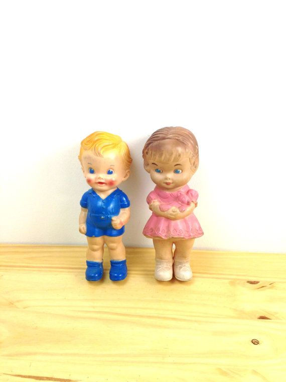 Vintage Sun Rubber Dolls / Boy and Girl Dolls / by VintageEdition