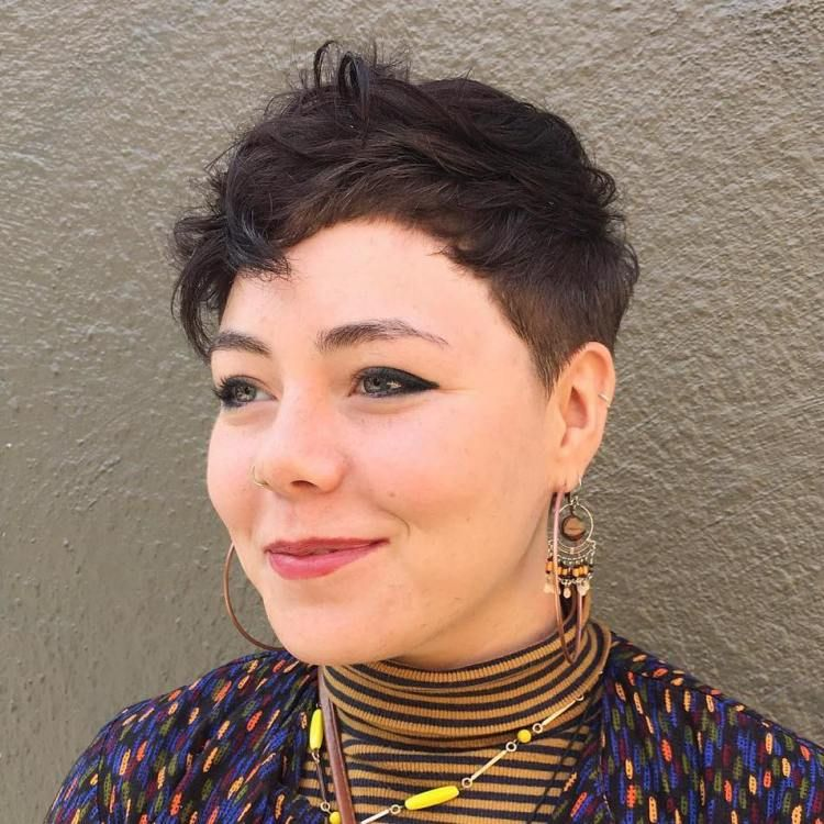 30 Standout Curly And Wavy Pixie Cuts Wavy Pixie Cut Wavy Pixie
