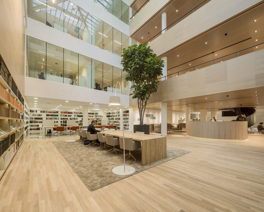 law office design ideas commercial office. Architecture BarentsKrans Hague Sophisticated Law Firm Design By Hofman Dujardin: The Project Office Ideas Commercial R