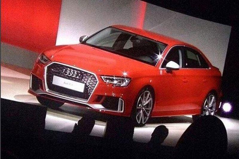 Audi heeft zojuist aangekondigd later vandaag het doek te trekken van de langverwachte RS3 Sedan. Daarmee heeft Audi een heuse verrassing meegebracht naar Parijs.