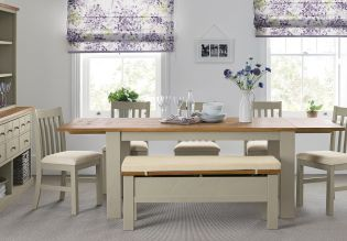 Buy HartfordR Painted 6 8 Seater Extending Dining Table From The Next UK Online