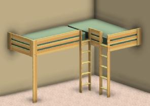 Loft Bed Plans Double Beds