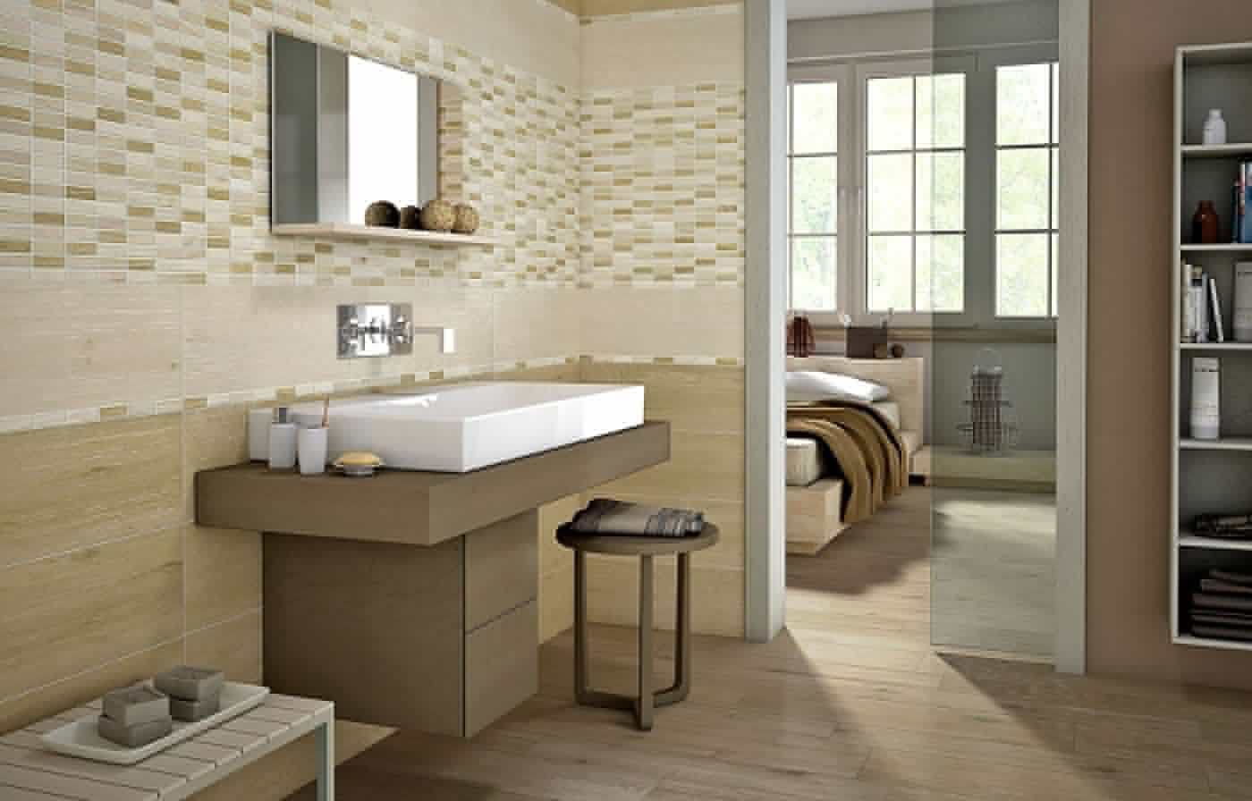 Flaviker #wood wall beige 20x60 cm ww2630 #gres #legno #20x60 su
