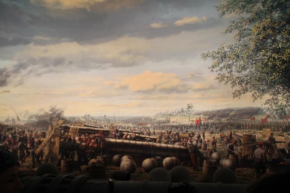 Ottoman Cannons At The Conquest Of Istanbul1453 Ottoman Empire