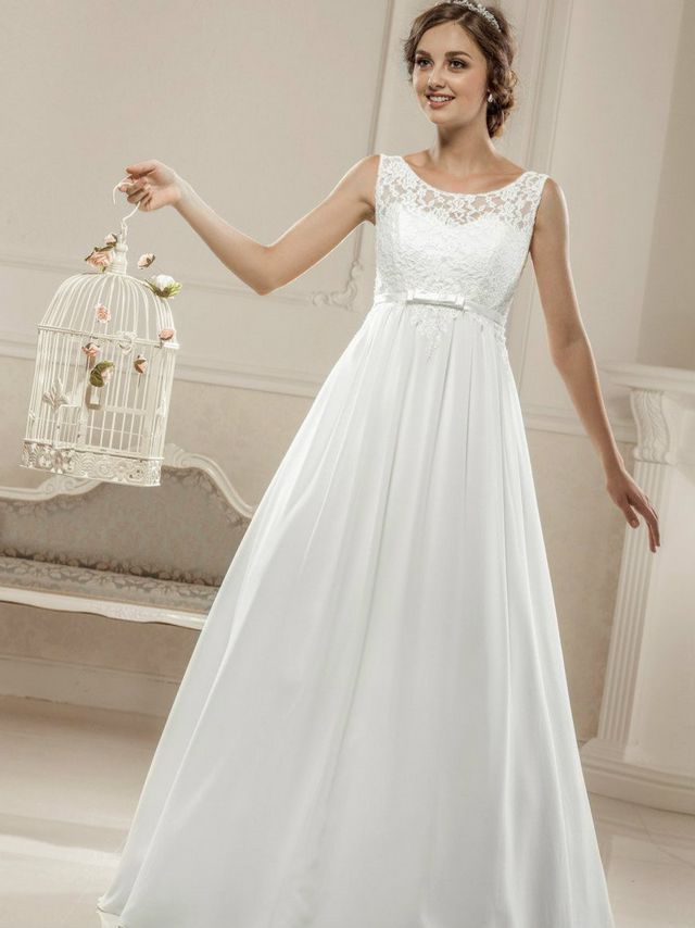 Unique Juliette Maternity Wedding Gown (Ivory) - Maternity Wedding Dresses Evening Wear And Party ...