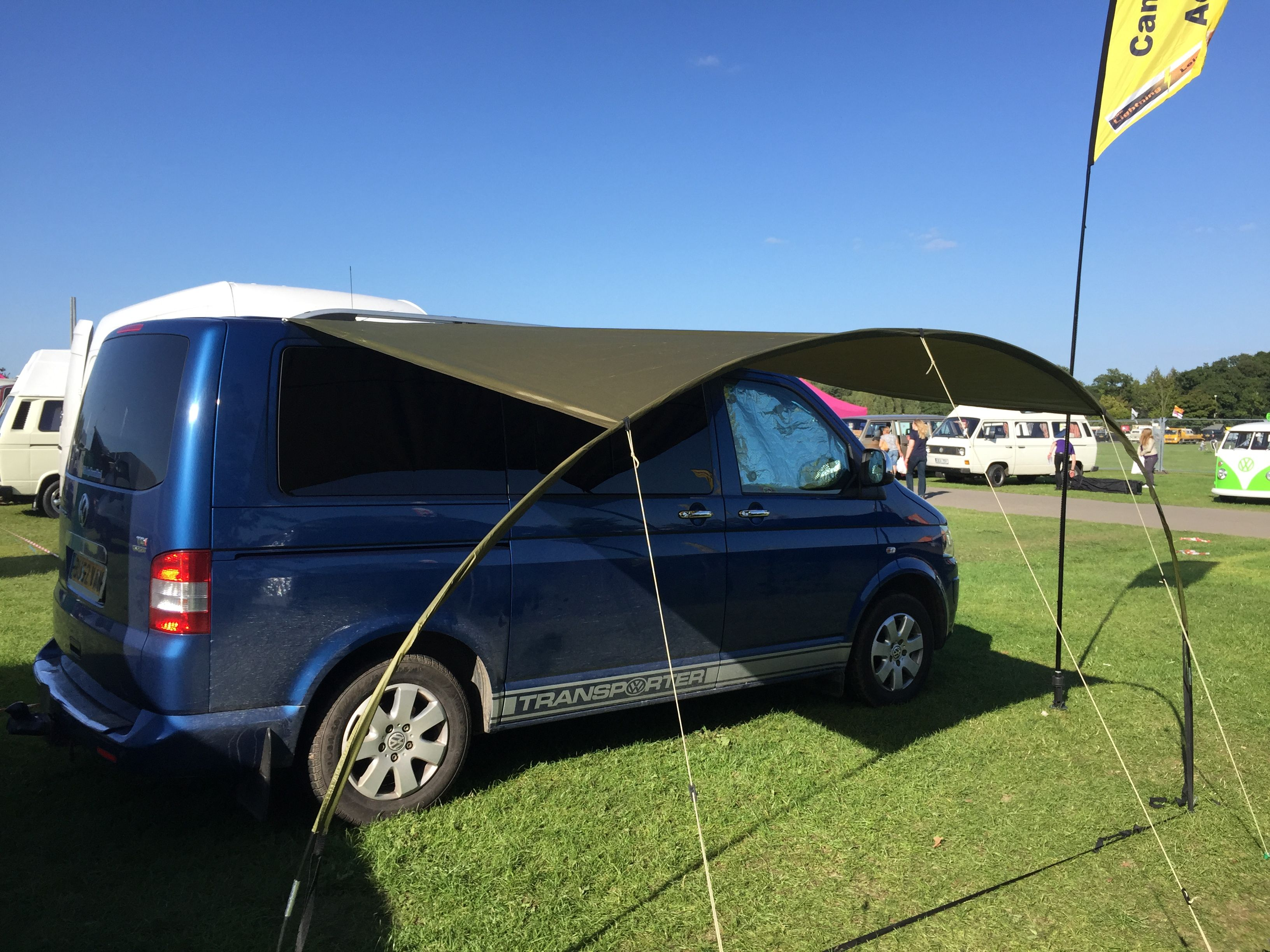 Green Hoop Canopy is part of Camper van conversion diy -