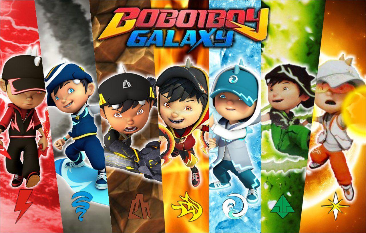 Download 80 Gambar Boboiboy Galaxy Yang Belum Diwarnai