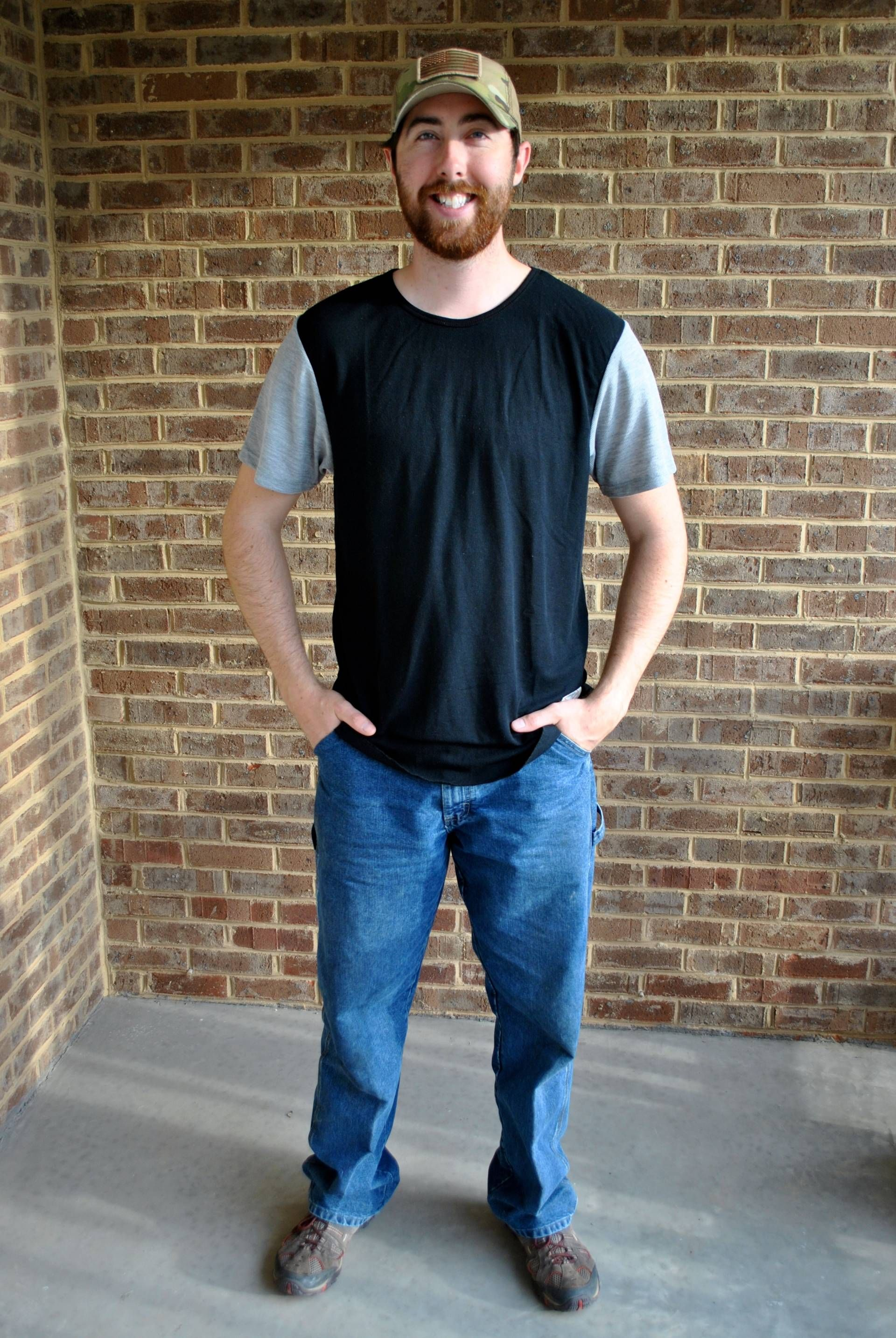 67f1e9faf8 Trendy Butler: My Husband's Turn to Be Styled | Kinetix Casual Luxury Tee