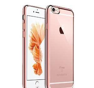 iphone 7 gel phone case rose gold