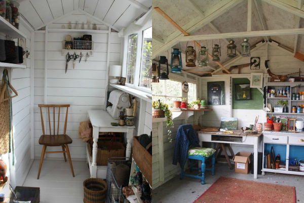 Tuinhuis tuinhuis inrichten : Je tuinhuis inrichten: 4 voorbeelden ...