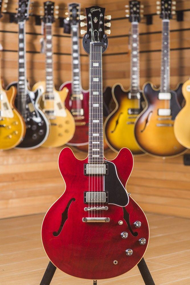 2015 Gibson Memphis ES-335 1963 TDC Sixties Cherry #gibsonguitars