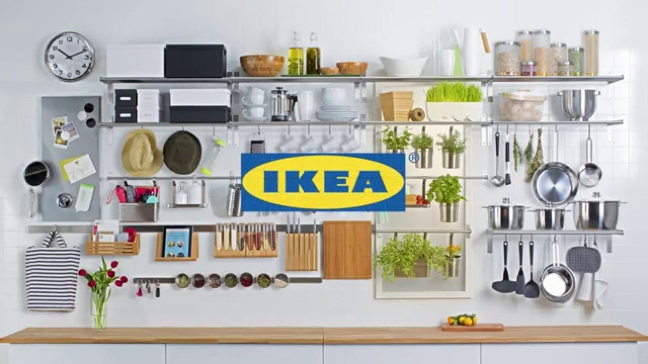 IKEA Wall Storage - YouTube | ikea kitchen | Pinterest | Wall ...