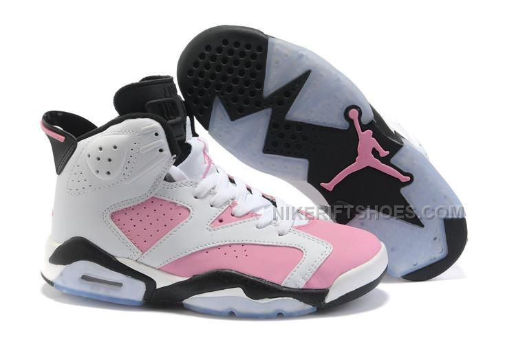 new products ece30 4ee72 Womens Air Jordan 6 White Pink-Black Cheap Sale, Price   86.00 - Nike Rift  Shoes