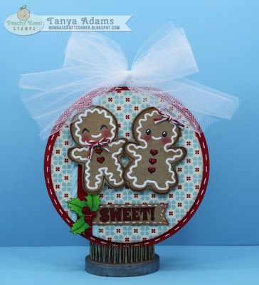 Sweet Gingerbread set from Peachy Keen Stamps