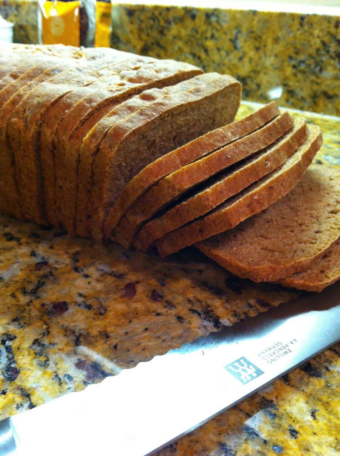 Wheat Sandwich Bread Recipe