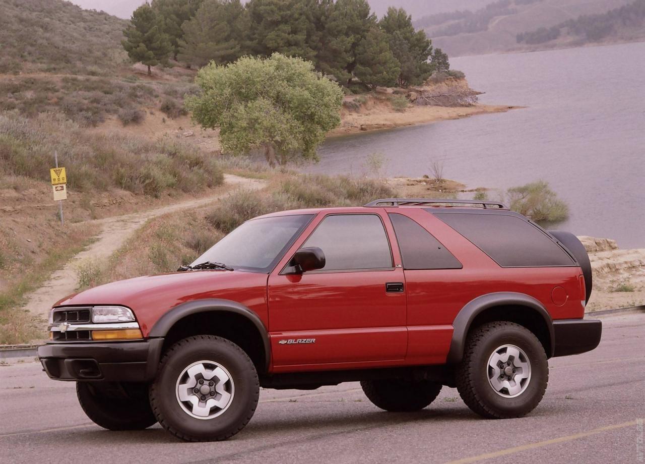 Katalog 2000 Chevrolet Blazer Camionetas