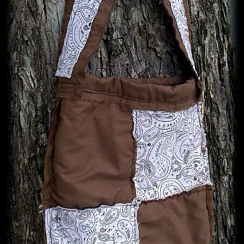 Shabby Chic Feedsack Bag on Lish, $35.00 USD Come like us at www.facebook.com/simplyvalarie