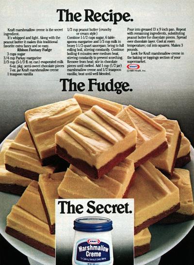 Fantasy fudge recipe kraft