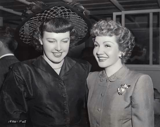 Image result for Claudette Colbert and Betty MacDonald