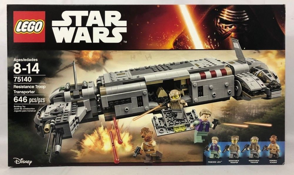 Resistance Troop Transporter Brand New In Sealed Box LEGO Star Wars 75140