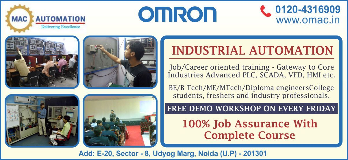 Omac Automation Llp Is One Of The Best Automation Institute That