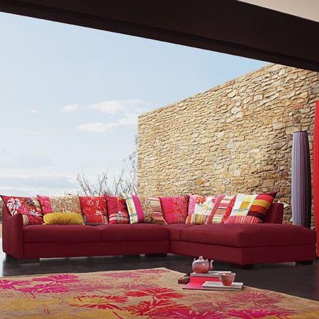 Kenzo Missoni Chez Roche Bobois And Chez Moi Modern Patio Furniture Fabulous Sofa Outdoor Living Room