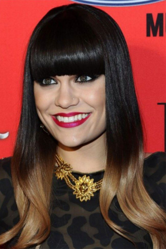 fringe hairstyles the best celebrity bangs of all the land jessie