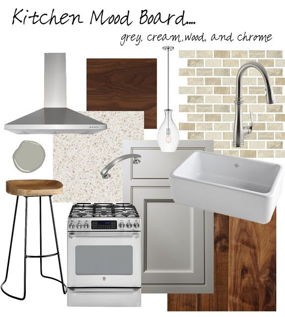 Ramblings from the Burbs: Kitchen Mood Board version 1.0 ...