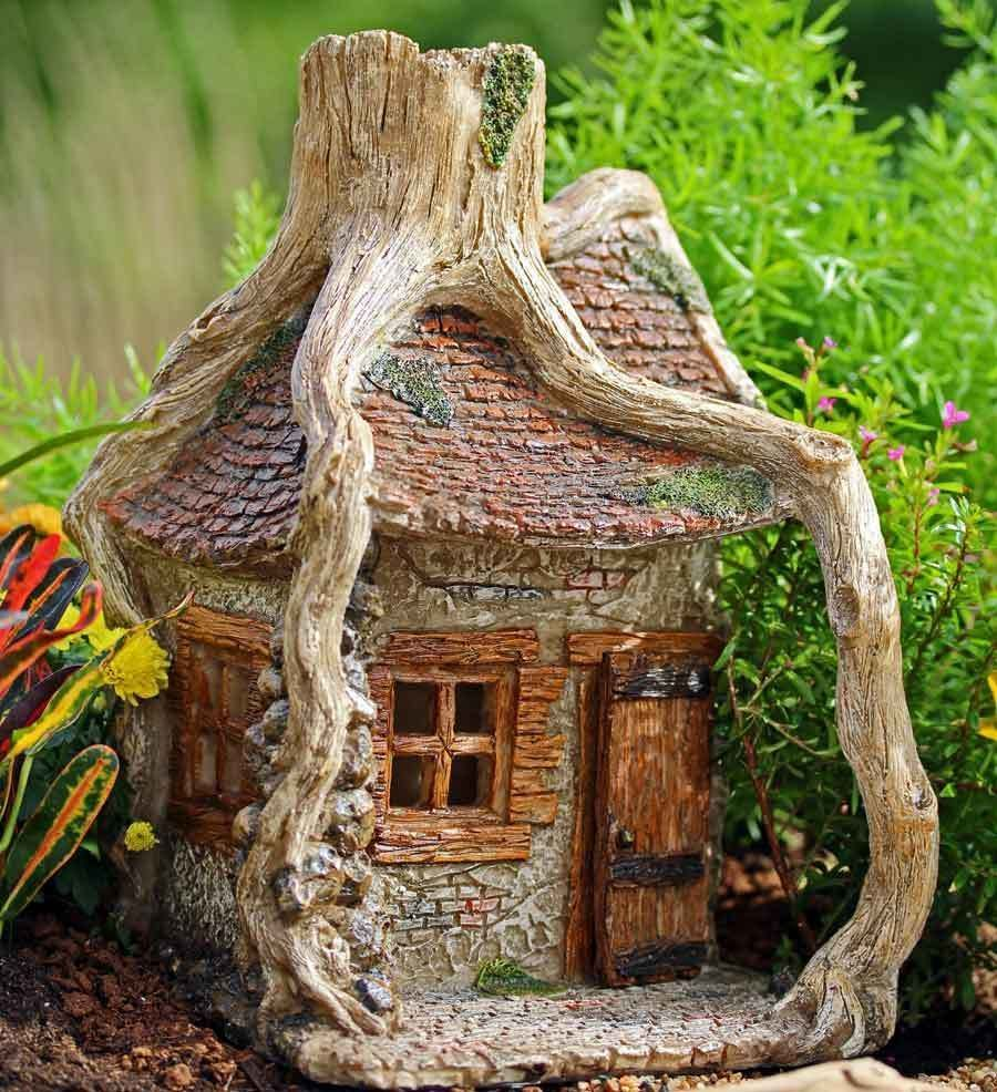 Hilltop Hollow Fairy House | Fairy houses, Fairy and Gardens