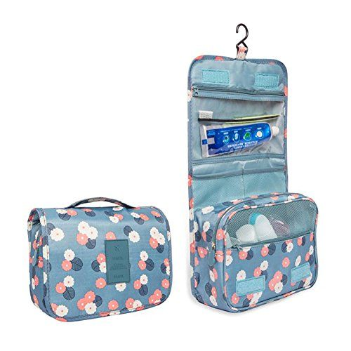 Toiletry Cosmetic Bag Makeup Waterproof Travel Organizer @ May 14 2020 at 06:50AM. #TravelDeals #TravelDealsCheap #TravelDealsBudget #AmazonTravel #AmazonTravelProducts #AmazonTravelMustHaves #AmazonTravelEssentials #goldbox #discount #deals #usa
