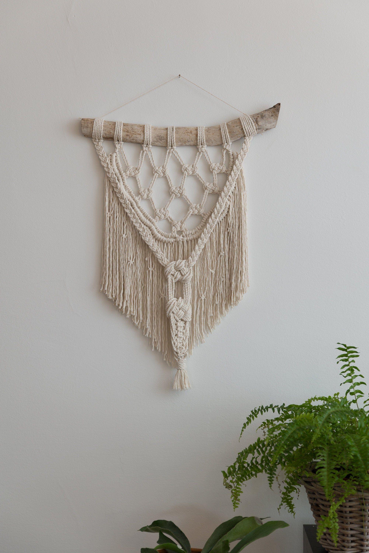 Macrame Wall Hanging Bohemian Decor Accessories Boho Decor