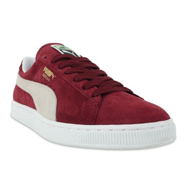 5e8a9f9b8a7e Puma  Suede Classic - Burgundy White  pumas  sneakers  trainers ...