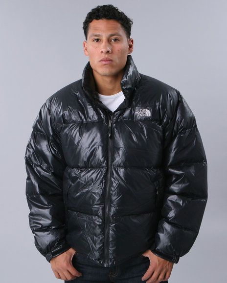The North Face Nuptse jacket in Shiny Black. The OG bubble jacket. I got my  1st TNF in  92 (21 years ago!). Gotta have one in your closet 698d0337f