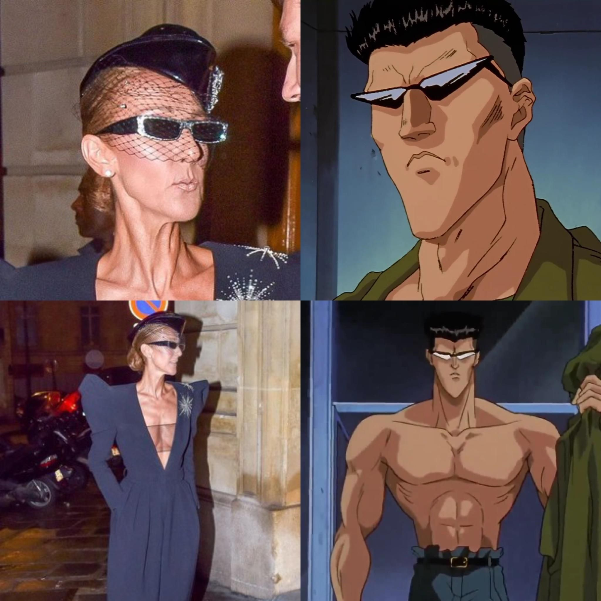 Pin By Rekoil From The Hailstorm On Transformers Celine Dion Anime Guys With Glasses Funny Laugh