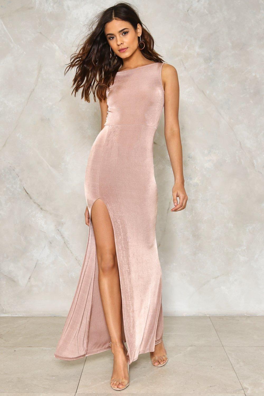 Drunk in Love Slit Dress | Vestiditos